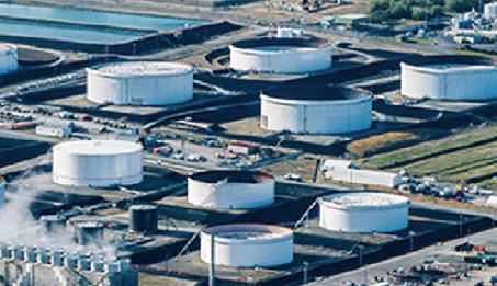 石油備蓄基地