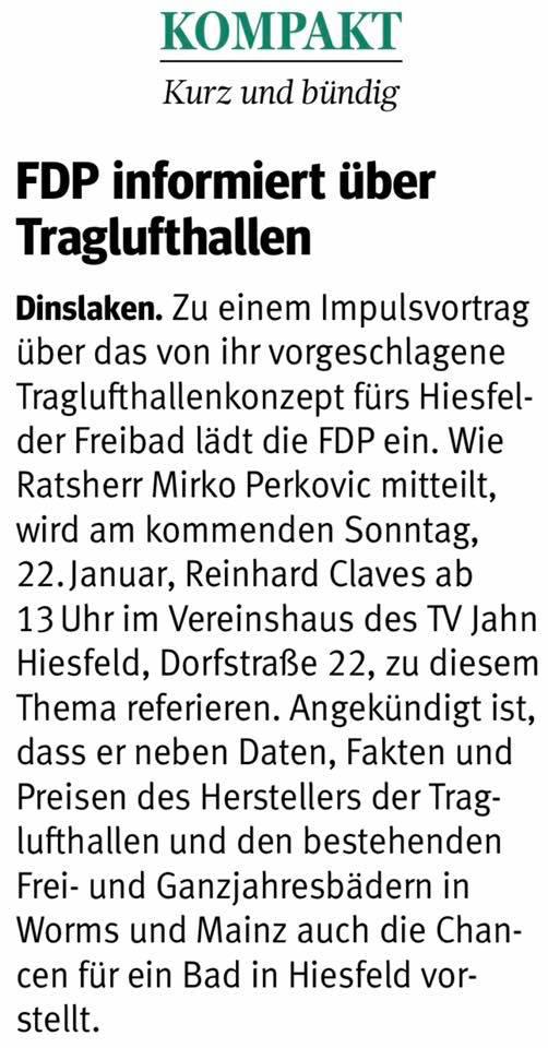 © NRZ Dinslaken vom 18.1.2017
