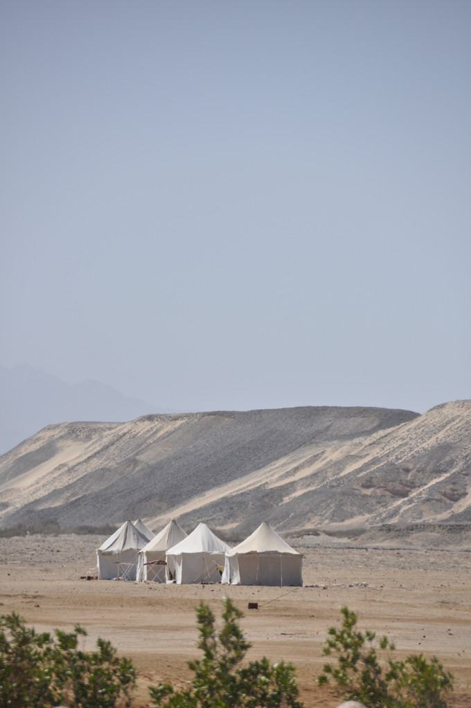 camp de toile Wadi Lahami