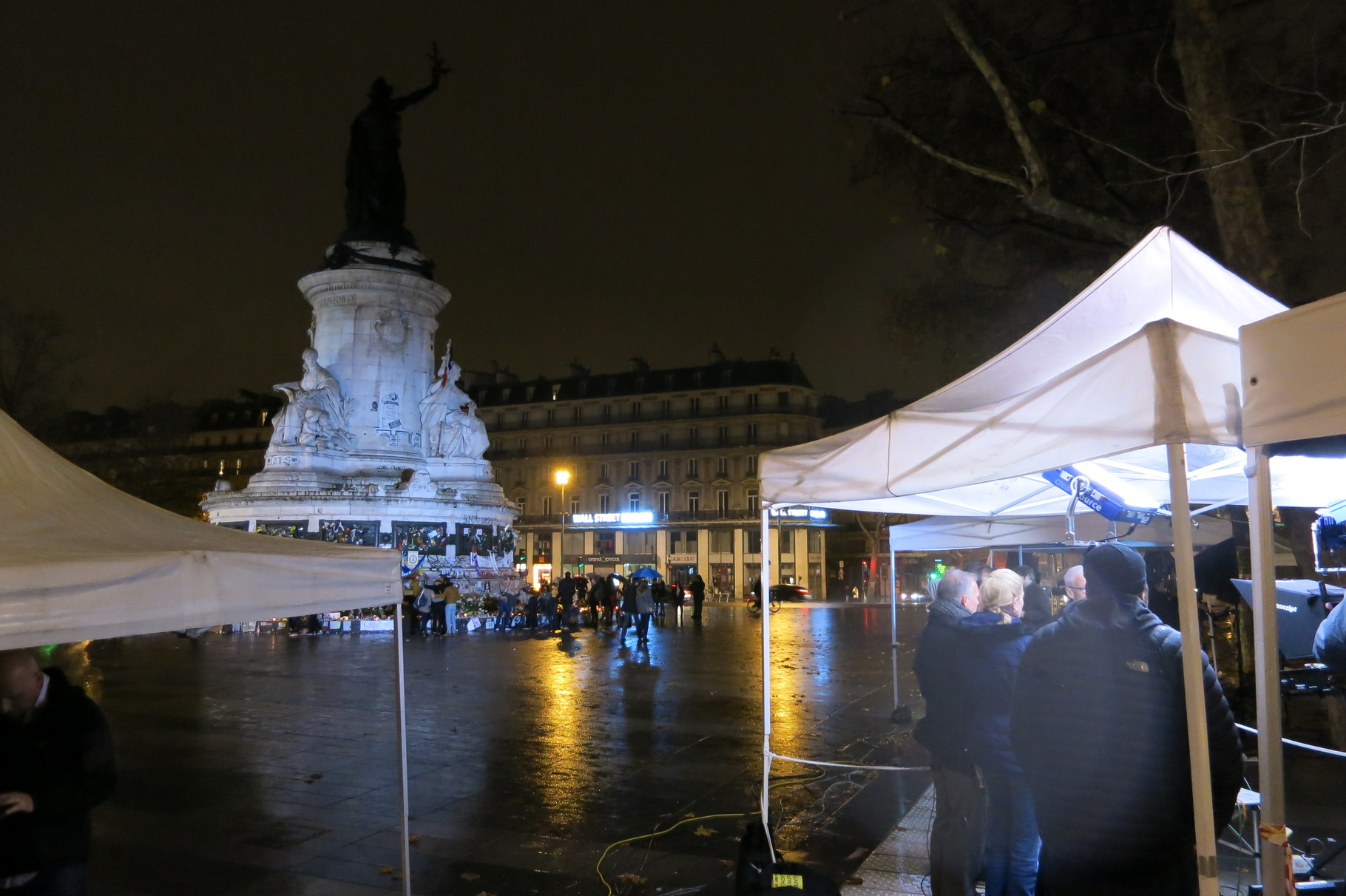 Place de la République France 20/11/2015