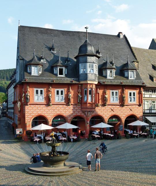 Haus Kaiserworth am Marktplatz in Goslar