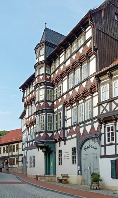 """Fachwerkhaus """"Alte Münze"""" in Stolberg"""