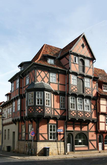 Fachwerk in Quedlingburg: Haus Börse.