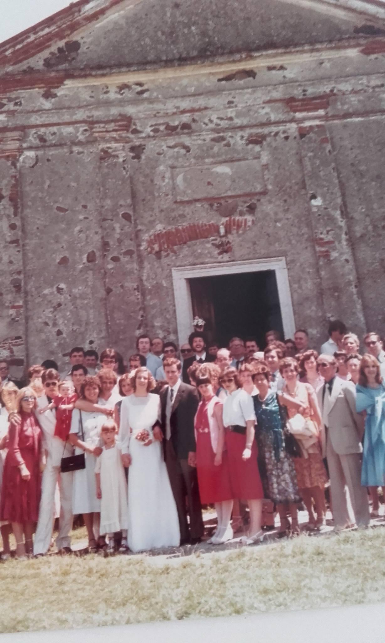 Mauro e Marilia, 4 Luglio 1981 - Foto di gruppo