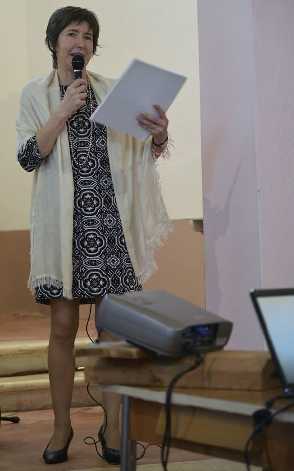 Fiorella Soffini spiega gli altari restaurati di San Sebastiano e Sant'Eurosia