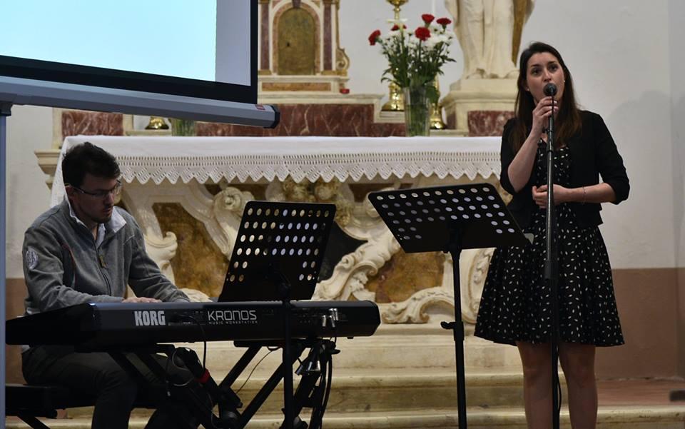 Claudia Valtinoni e Paolo Ghirardello