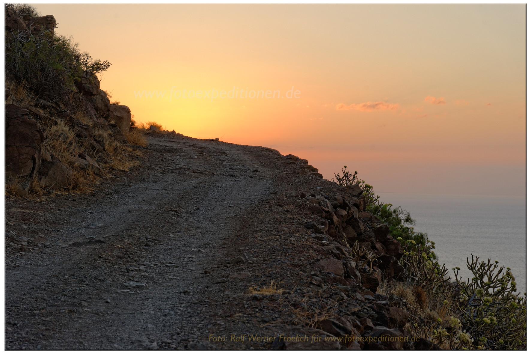 Sonnenaufgang Gomera
