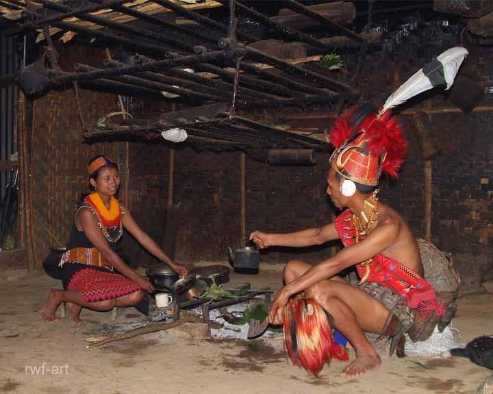 Familie, Nagaland