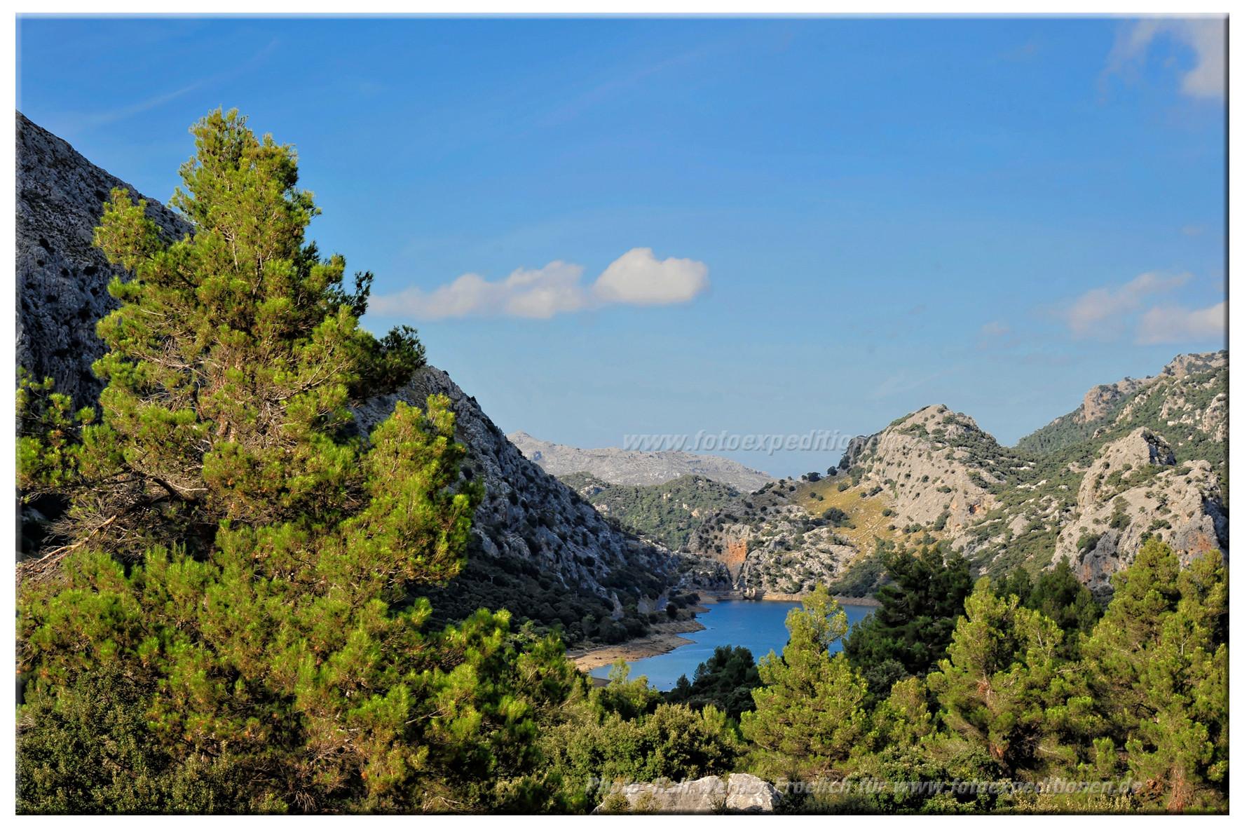 Blick auf Gorg Blau, Mallorca