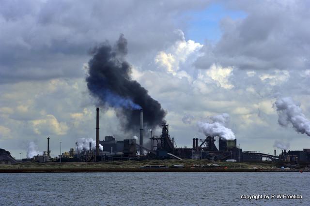 Industriearchitektur oder der Schrecken der Zeit