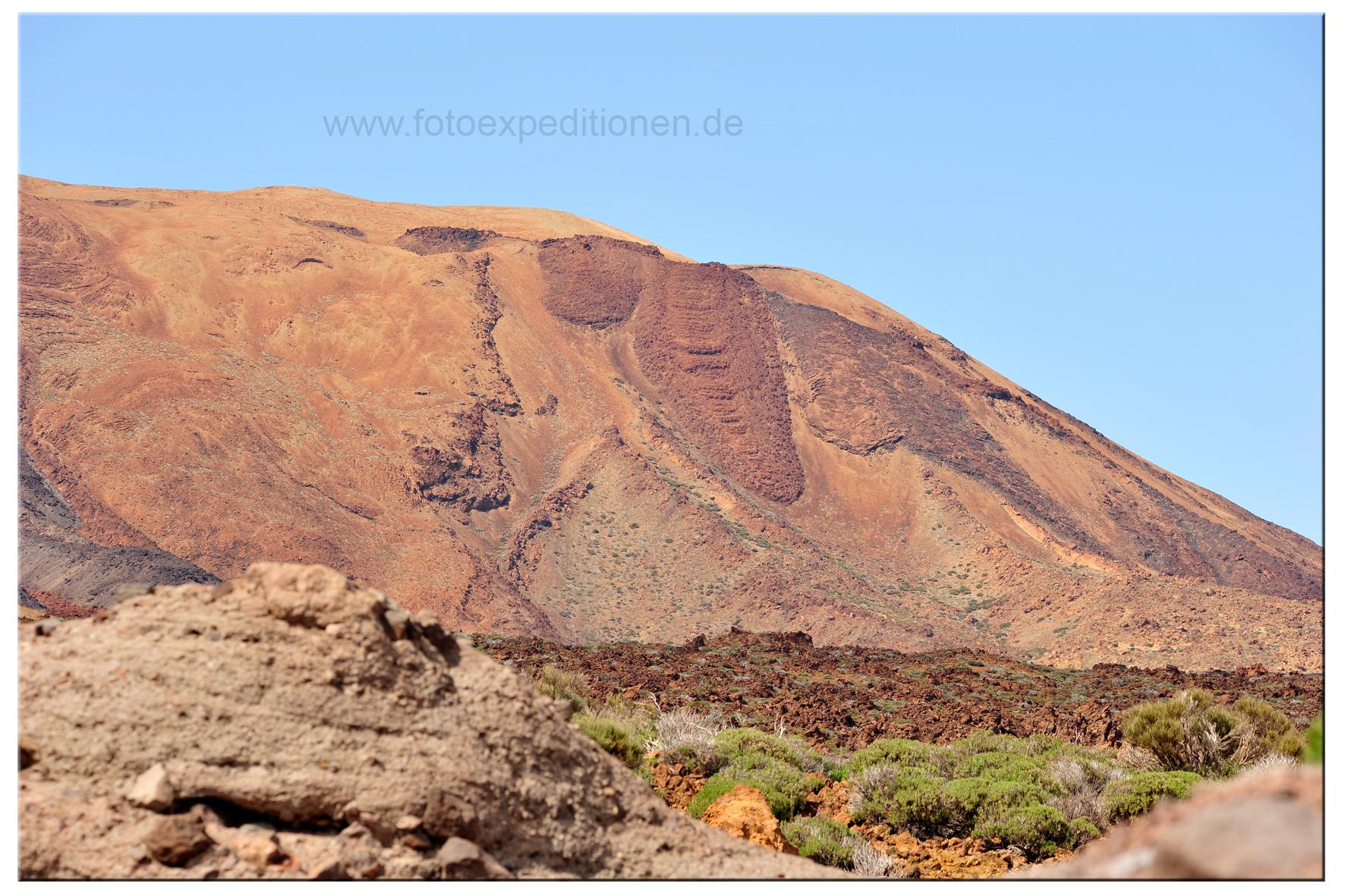 Am El Teide, Teneriffa