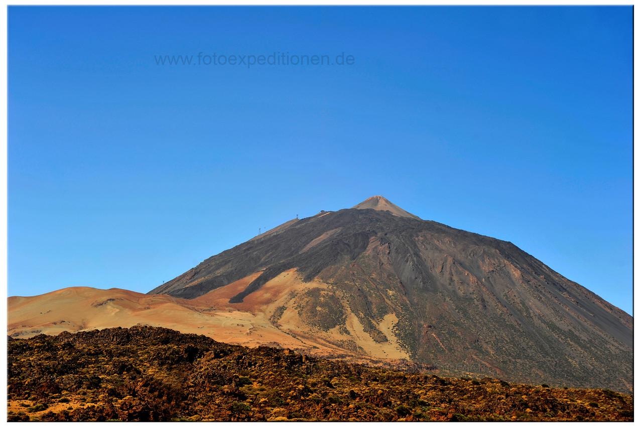 Teneriffa, Blick zum El Teide