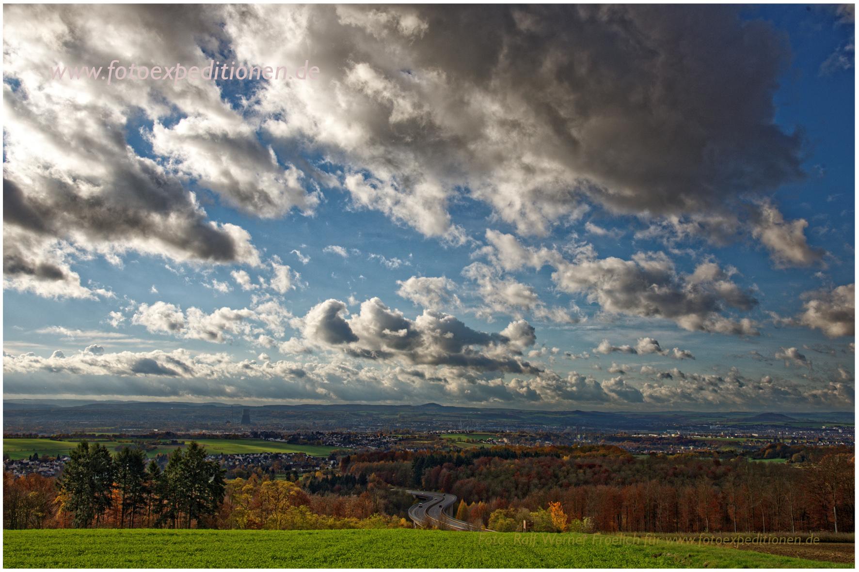 Blick in's Rheinland bei Neuwied