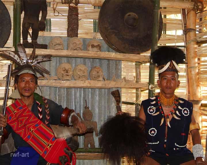 Ang Alo mit Minister, Nagaland