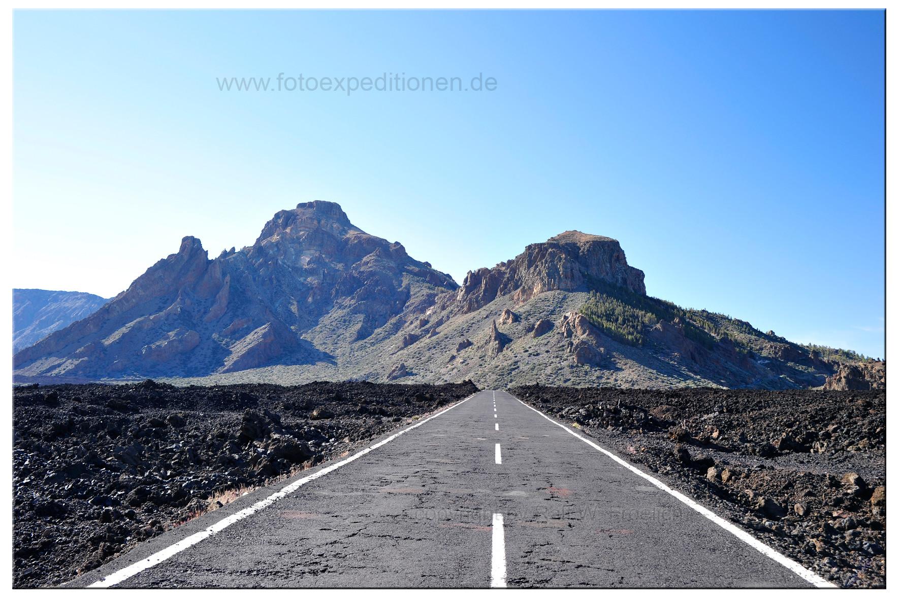 Auf dem El Teide, Teneriffa