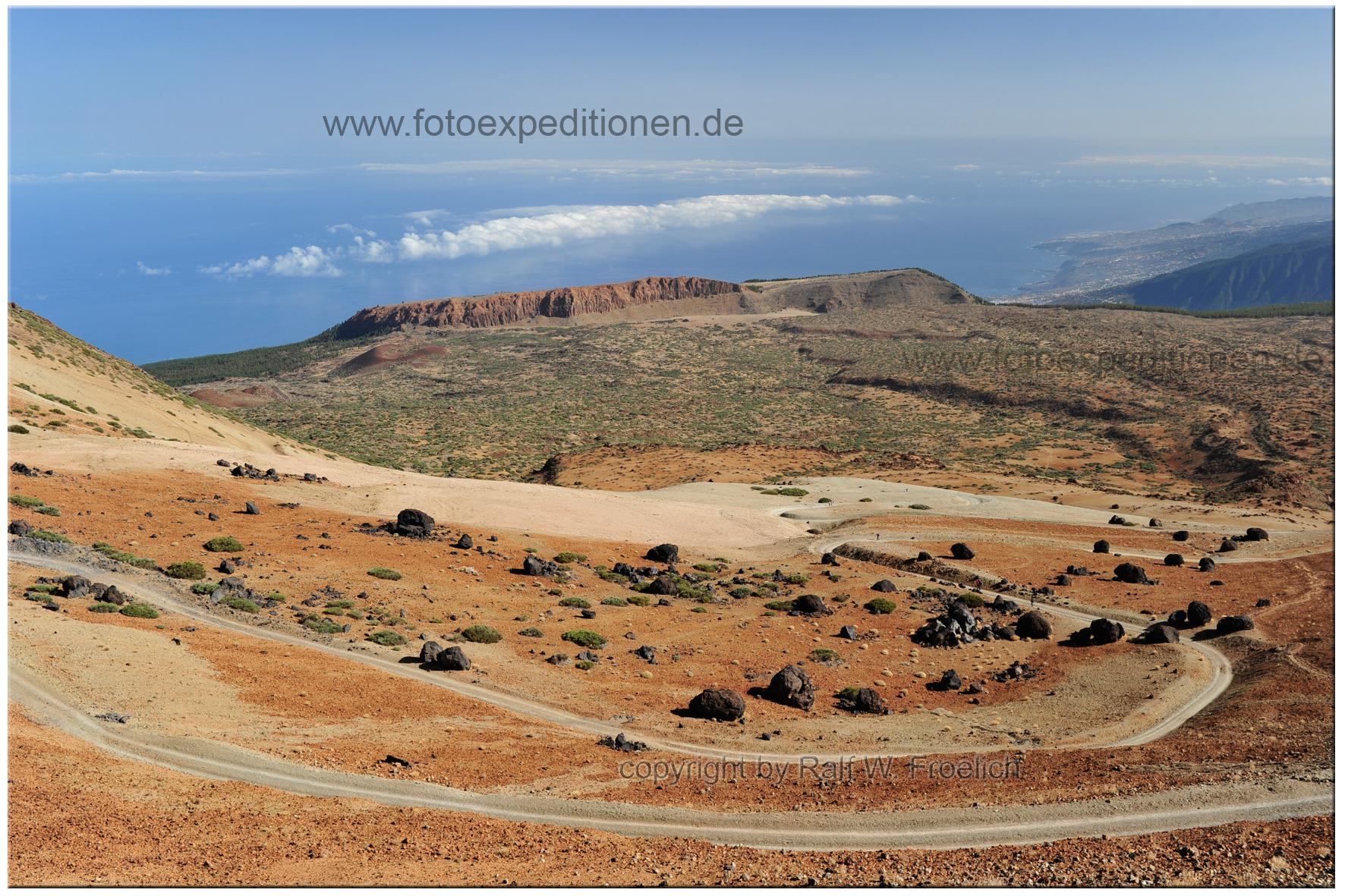 El Teide, die berühmten Teide -Eier,Teneriffa