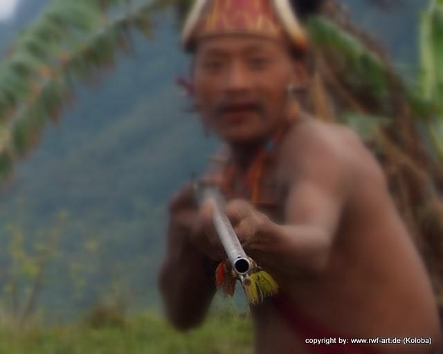 Nagakrieger, Nagaland