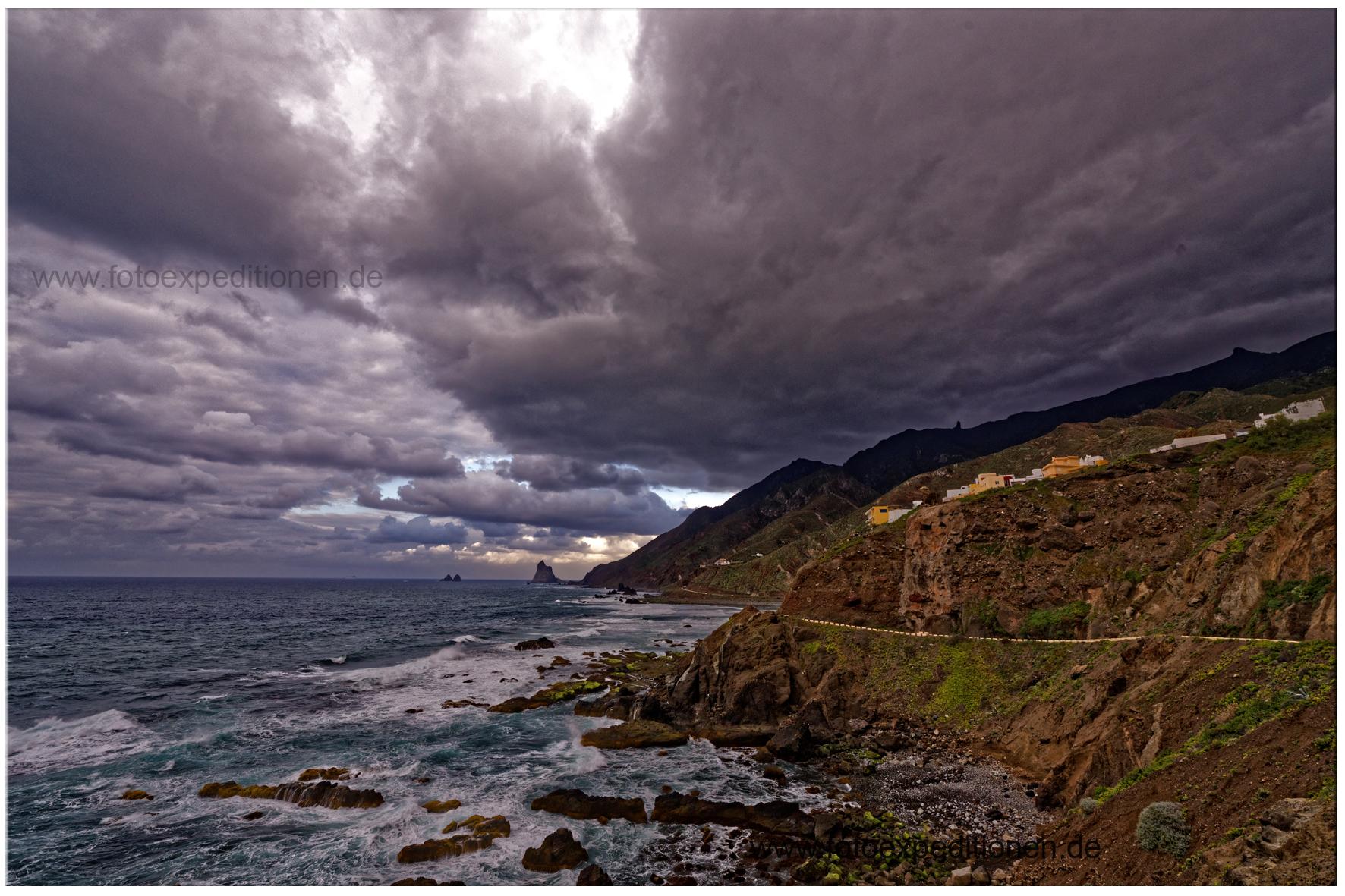 Wolkenstimmung auf teneriffa