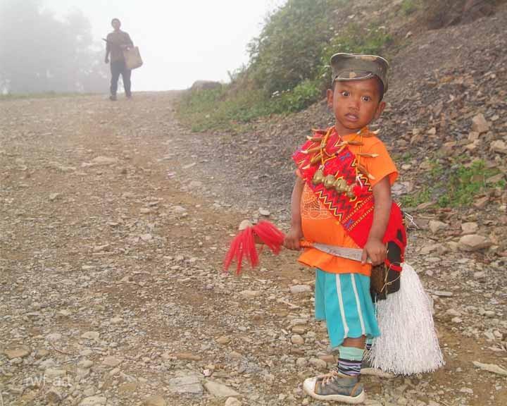 er geht zum Aolingfest, Nagaland