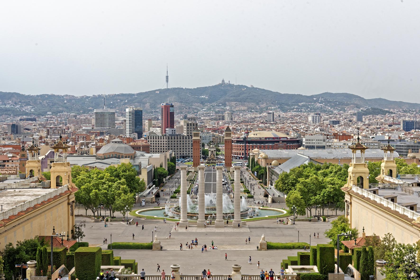 """""""Stadt- und Dorf - ansichten"""",  Barcelona,"""