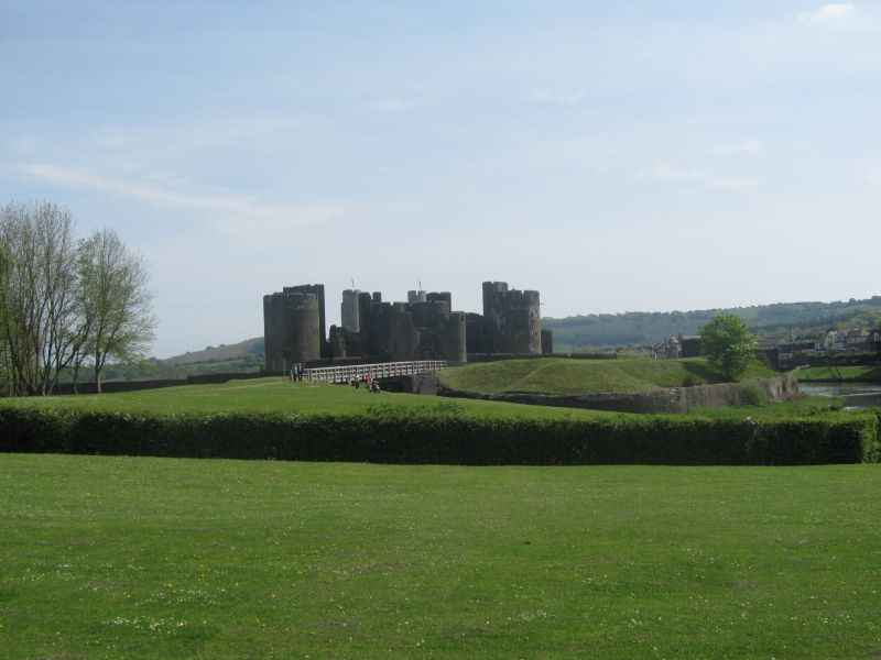 Caerphilly Castle, Wales
