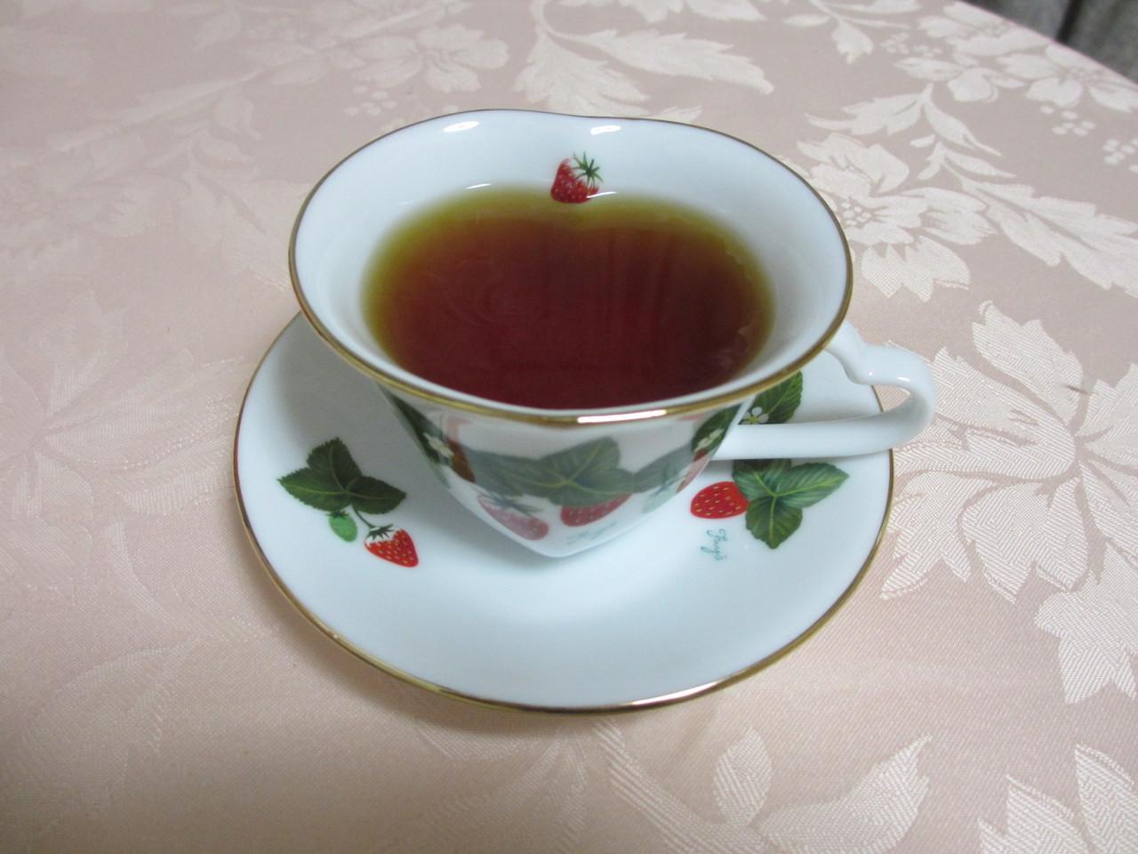 終わったら紅茶、ハーブティでほっと一息ついてくださいね。