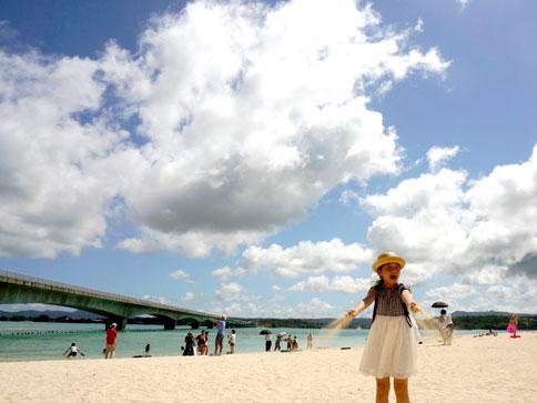 記憶にずっと残る海と空(親だけ) / 2016.5 沖縄