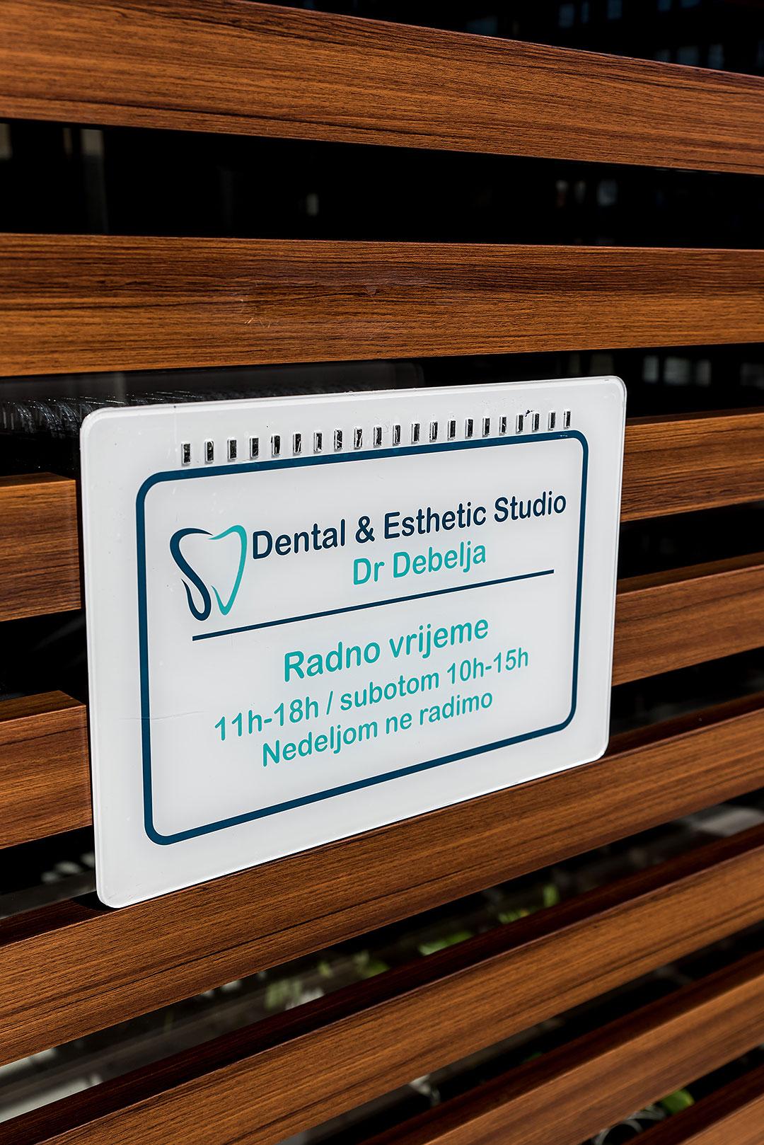 Dental Office Label | Dental Esthetic Studio Dr Debelja Bar Tivari Montenegro