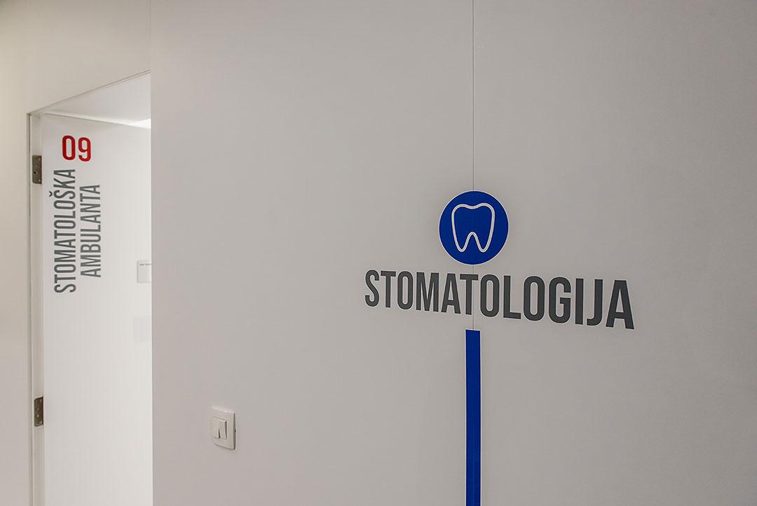 Color signage II | Dental Esthetic Studio Dr Debelja Bar Tivari Montenegro