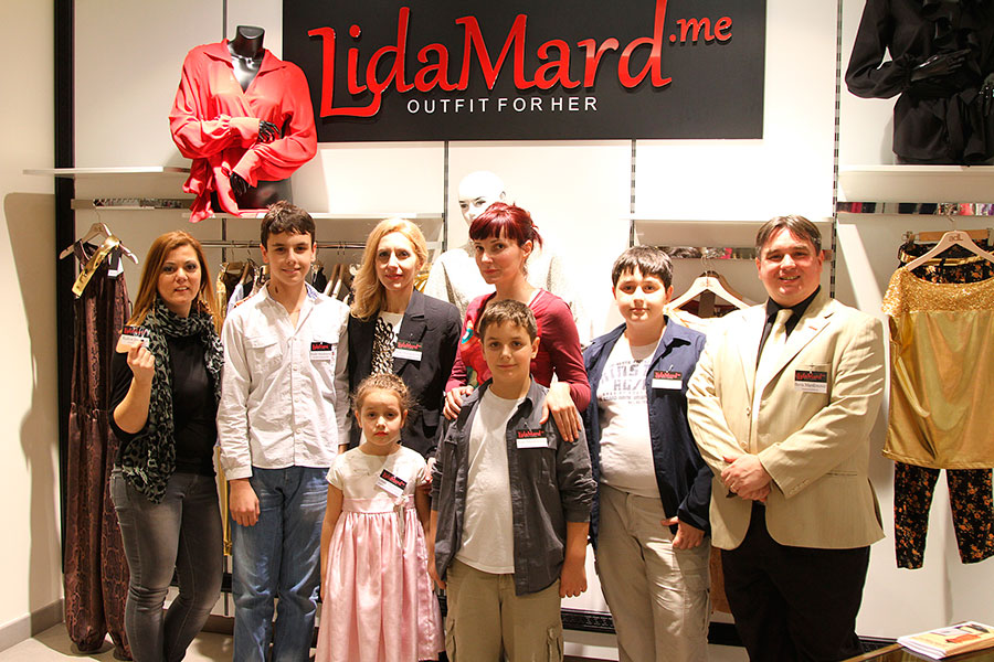 2014 | LidaMard opens the first high fashion boutique in Podgorica
