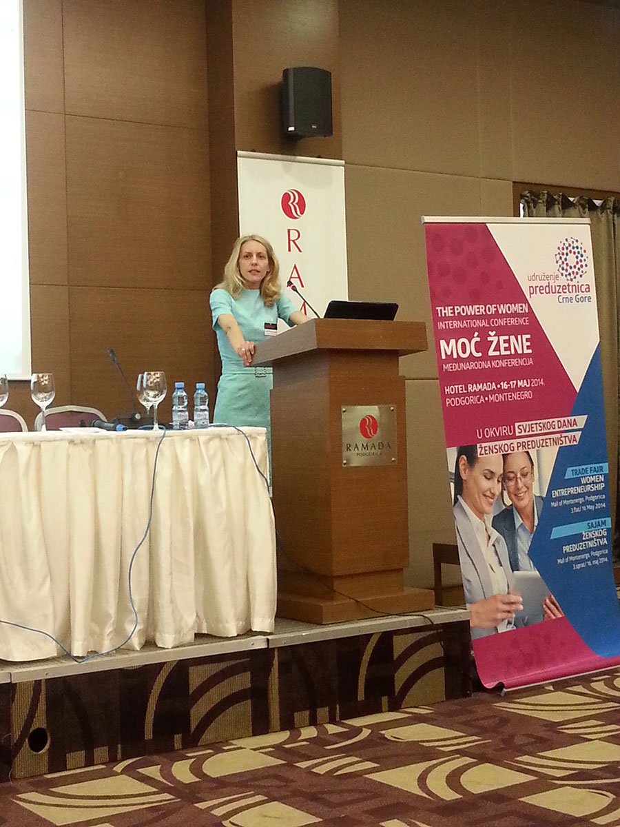 2014 | Lida holds the first public speech about woman empowering and female entrepreneurship
