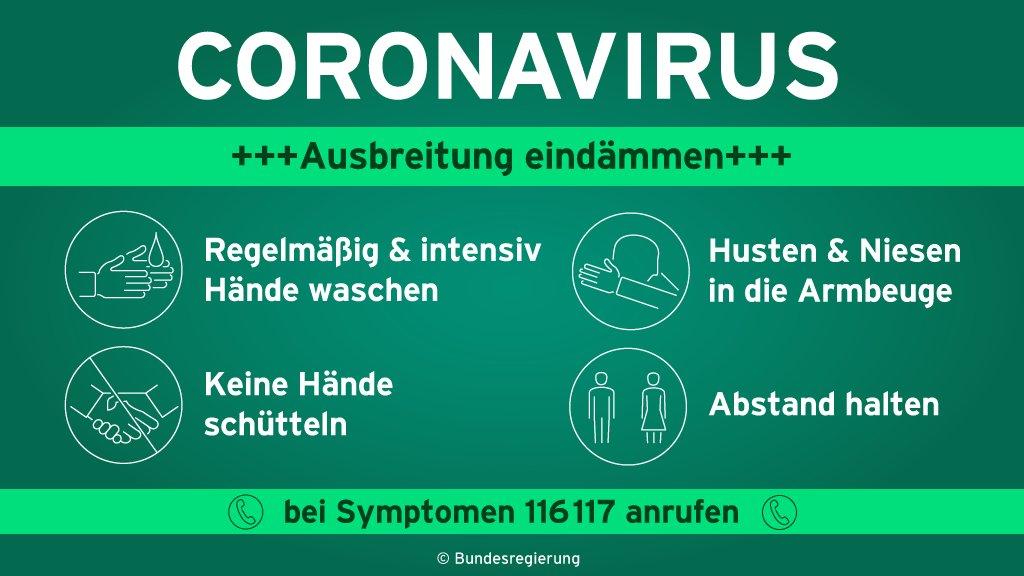 Eine Variante zur Verhinderung einer Virusübertragung: Händeschütteln weglassen