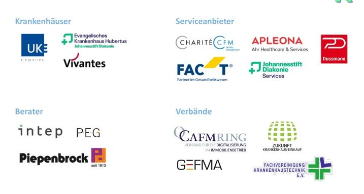 Die Projektpartner (Praxispartner), Quelle: HWR Berlin