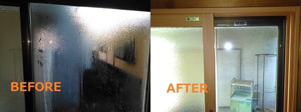 内窓の設置で結露軽減され、目隠し効果のあるガラス採用で外からの視線も気になりません。