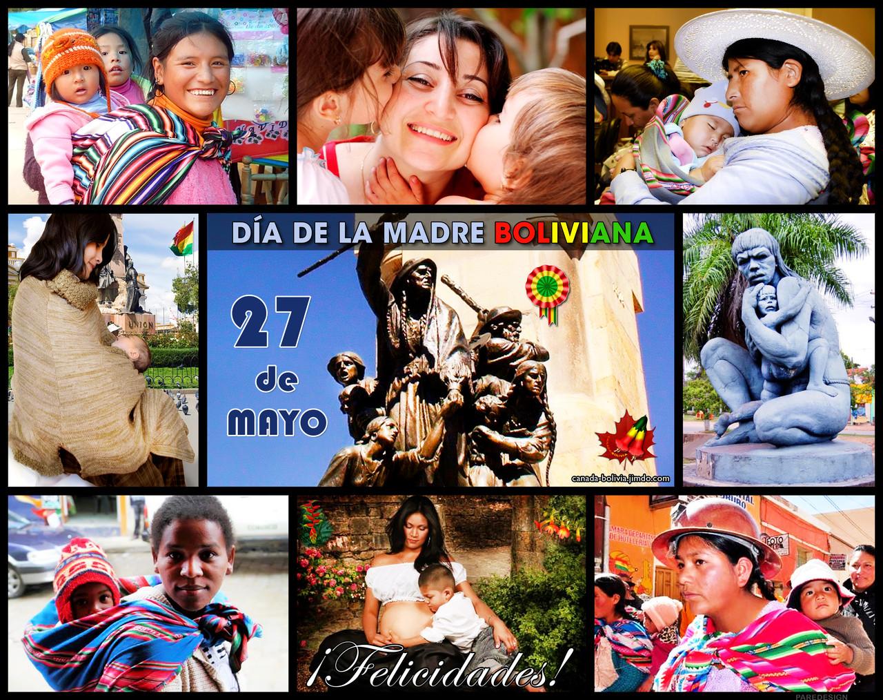 Resultado de imagen para MADRE  BOLIVIANA