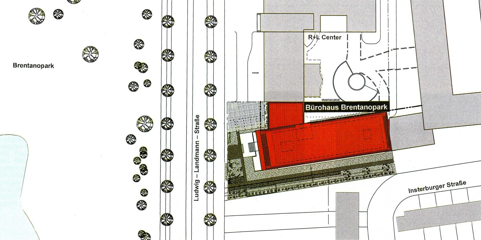 Neubau Bürohaus Brentanopark – Frankfurt am Main Rödelheim, Frick.Reichert Architekten