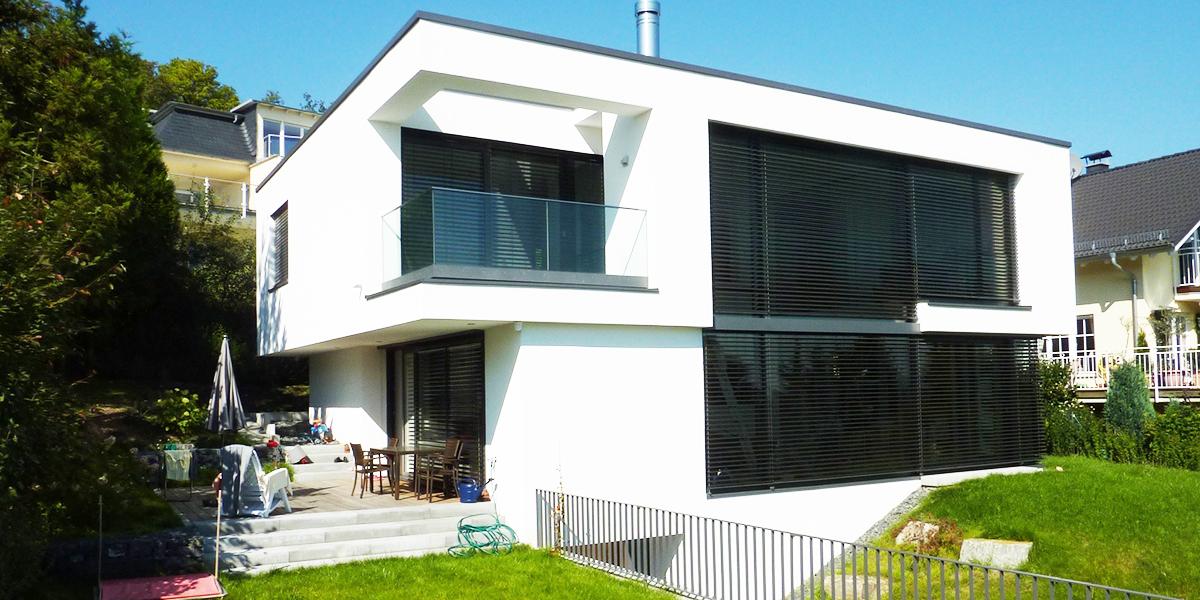 Architekten Frankfurt – Neubau Einfamilienhaus in Kelkheim-Ruppertshain, Architekturbüro Frick.Reichert Architekten