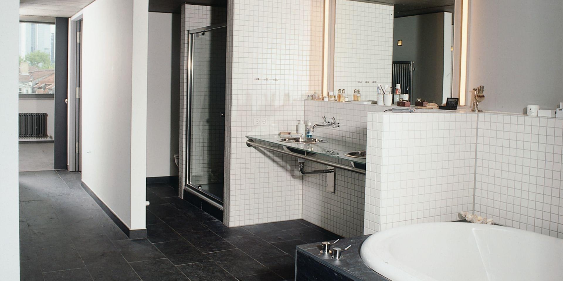 Architekten Frankfurt - Neubau Penthouse in Frankfurt Westend, Architekturbüro Frick.Reichert Architekten