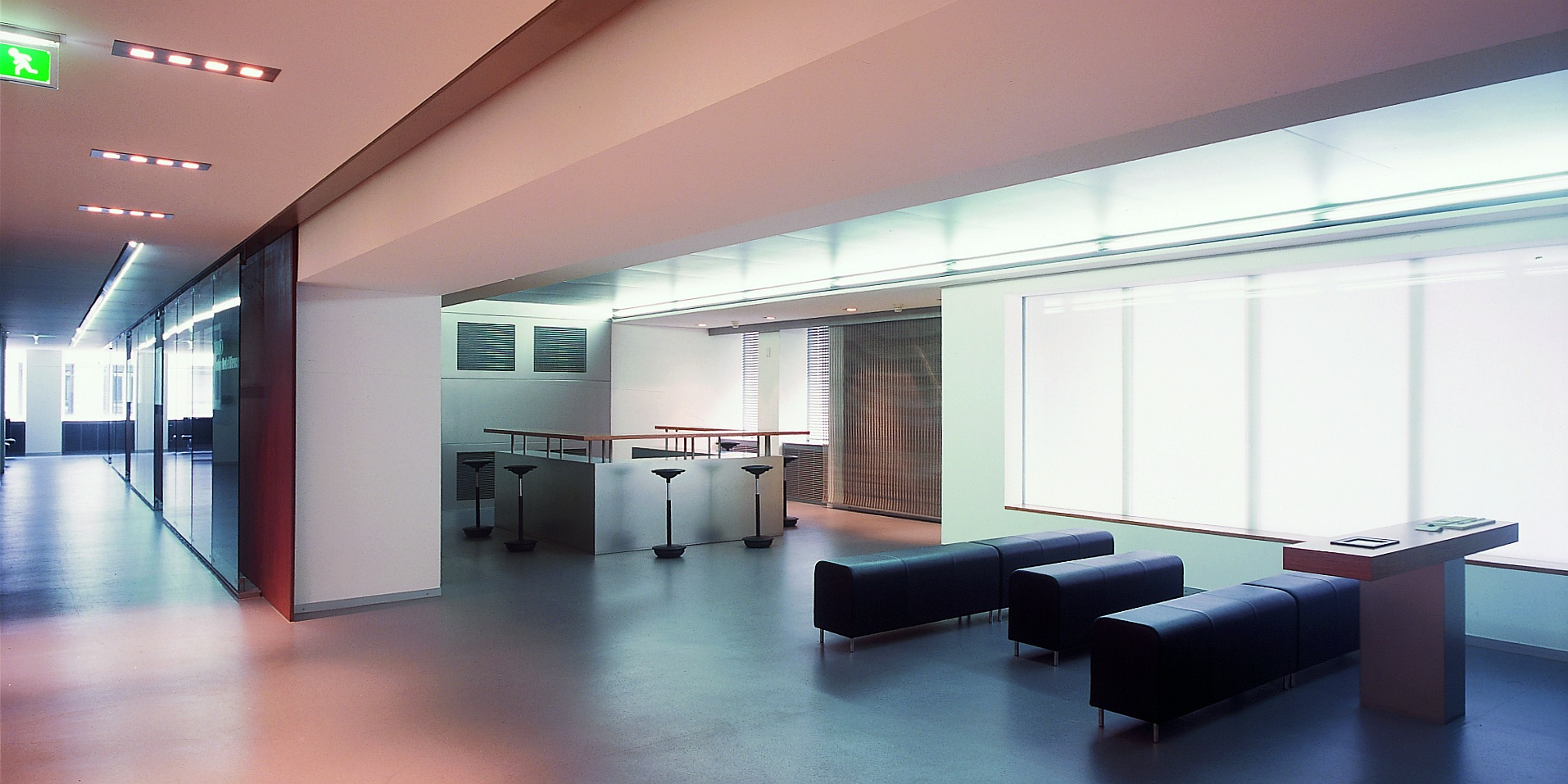 Architekten Frankfurt – Umbau und Neugestaltung Büroetage für BBDO in Düsseldorf, Architekturbüro Frick.Reichert Architekten