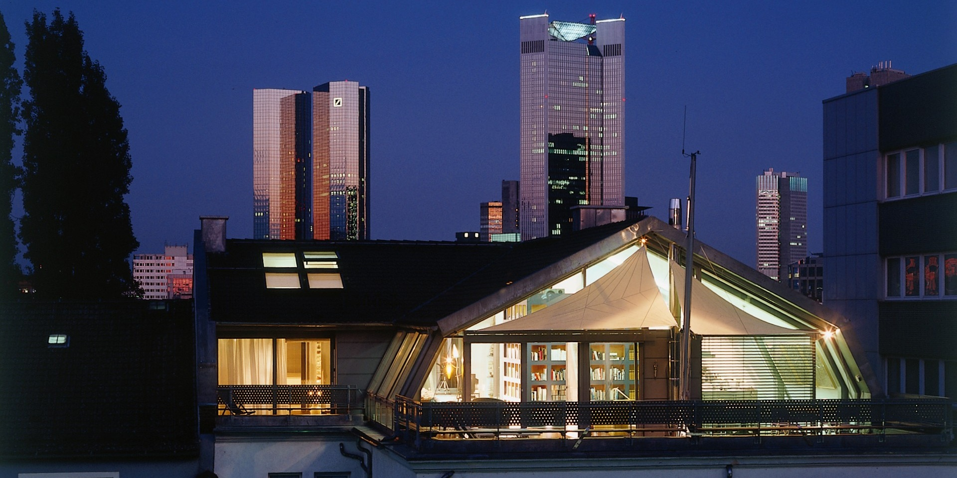Neubau Penthouse - Frankfurt Westend, Frick.Reichert Architekten