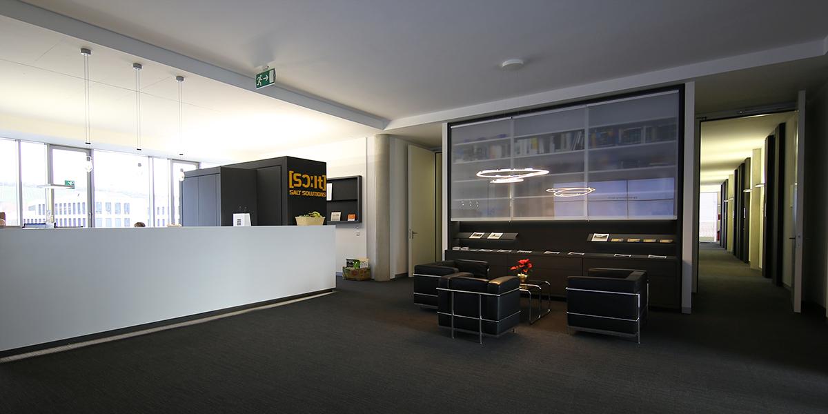 Architekten Frankfurt – Um- und Ausbau von 3 Büroetagen für SALT Solutions am Hauptsitz in Würzburg, Architekturbüro Frick.Reichert Architekten