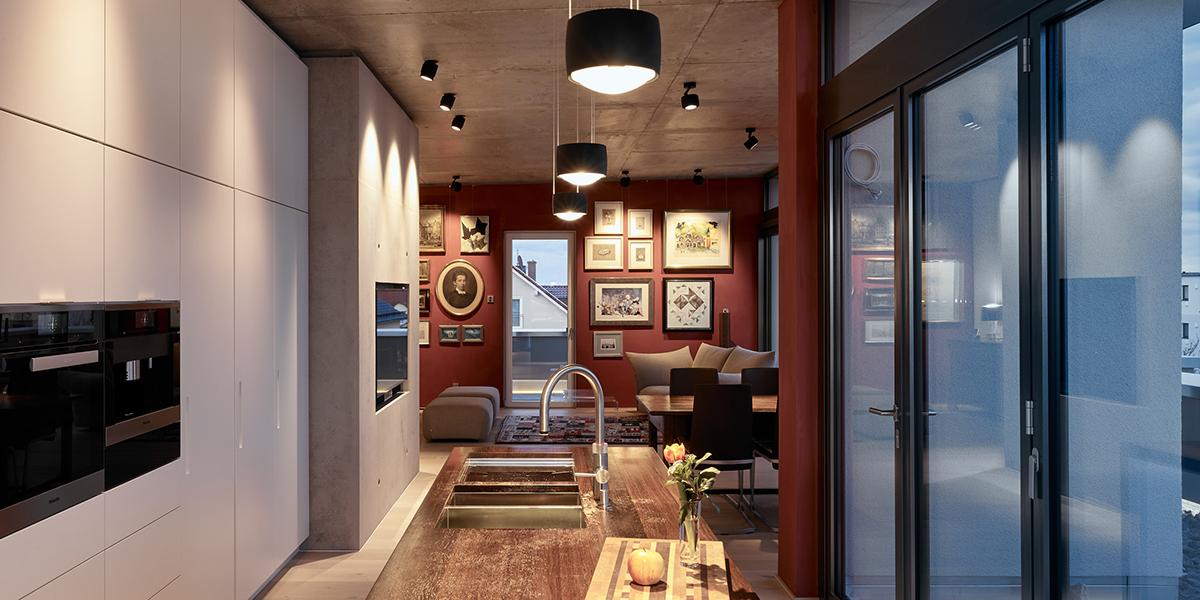 Neubau Penthouse – Bad Nauheim, Frick.Reichert Architekten Frankfurt