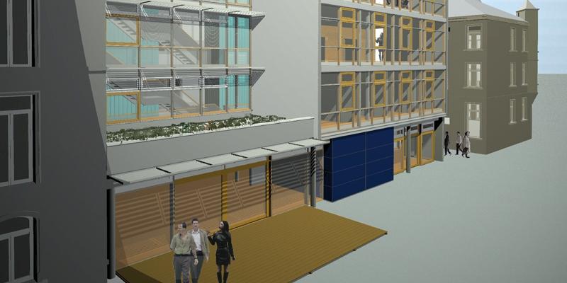 """Architekten Frankfurt – Neubau und Sanierung Bürogebäude """"Heyde Campus"""" in Bad Nauheim, Architekturbüro Frick.Reichert Architekten"""