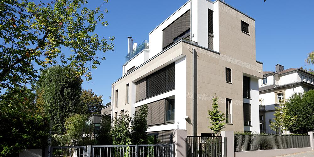 Architekten Frankfurt – Neubau Mehrfamilienhaus in Frankfurt Nordend, Architekturbüro Frick.Reichert Architekten