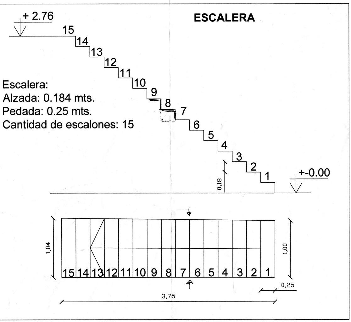 Datos para cotizar una escalera premoldeada escaleras for Escalera de 5 metros