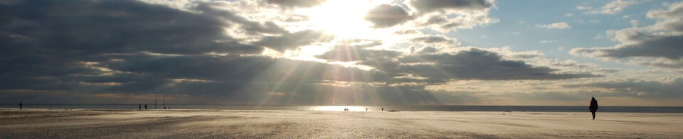 Organisationsentwicklung - Sonnenuntergang am Strand