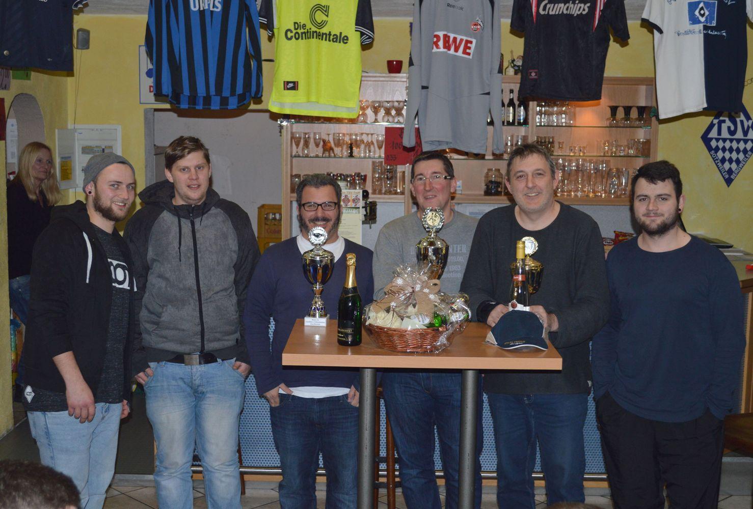 Bauerturnier 2016 - Die Siegerteams