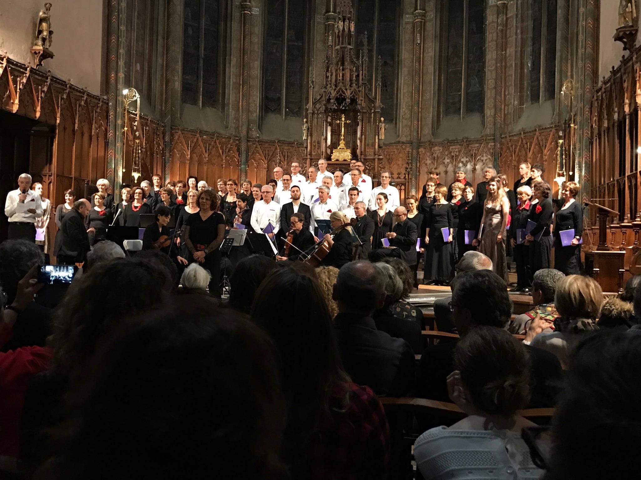 Concet au profit de Auvergne pour un enfant en l'église Saint Genès des Carmes de Clermont Ferrand 18 mars 2017