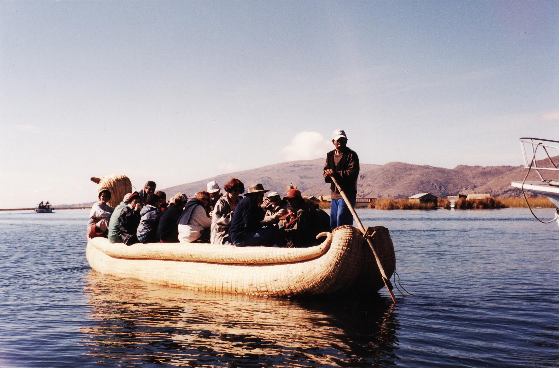 2002 - Pérou - Sur le lac Titicaca