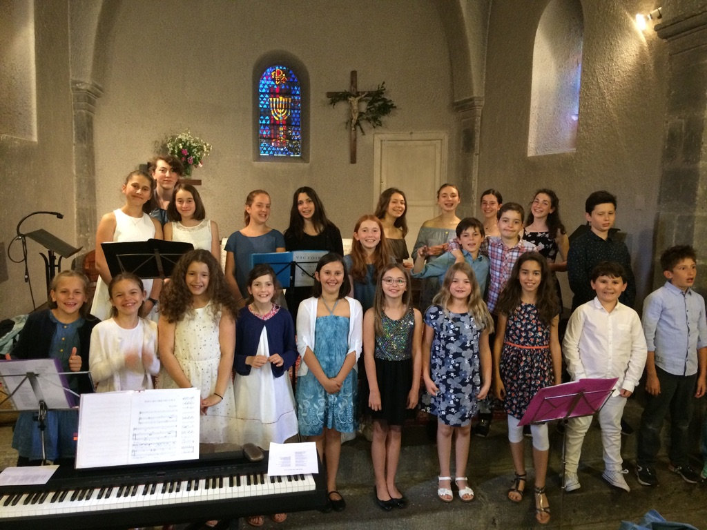 Concert du chœur d'enfants 15 juin 2018 Eglise de Durtol